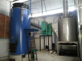 Hệ thống lò hơi  1-2T-h + xử lý khói thải