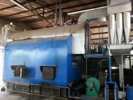 Hệ thống lò hơi + xử lý khói thải